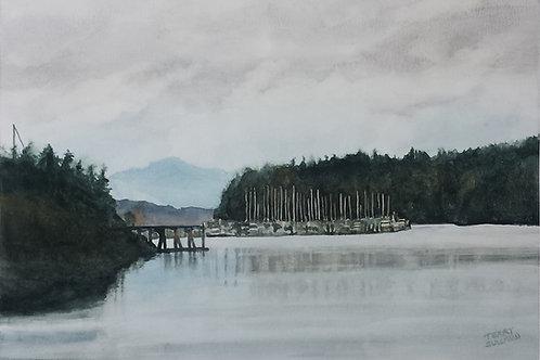 Olympia Mist (Original Watercolor)