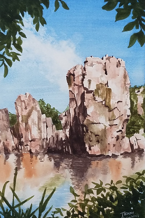 Palisades Morning Limited Edition Giclée Print