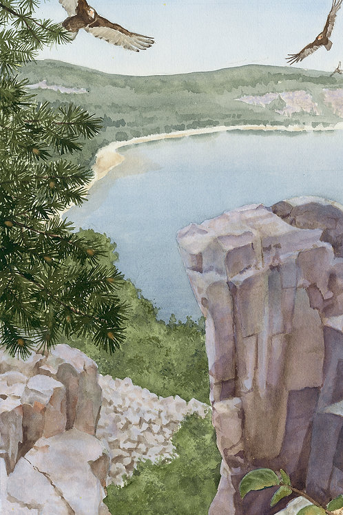 Devils Lake Summer (Limited Edition Giclée Print - Original Size)
