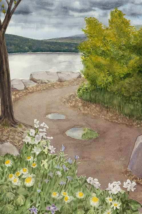 Devils Lake Spring (Limited Edition Giclée Print - Reduced Size)