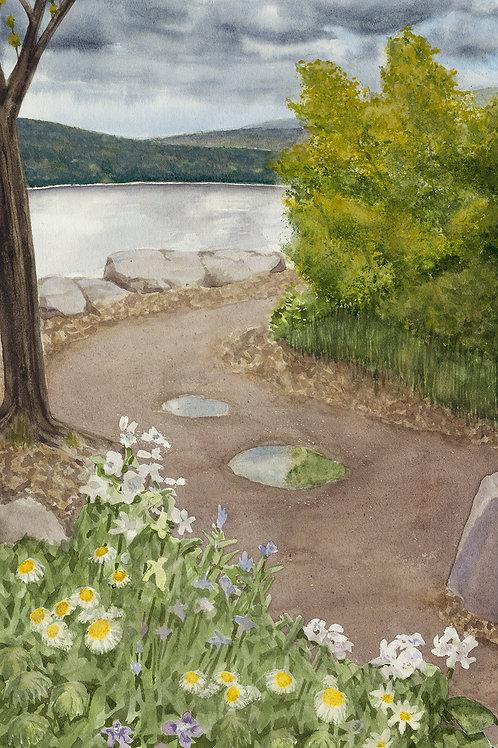 Devils Lake Spring (Limited Edition Giclée Print - Original Size)