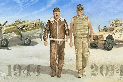 Staff Sergeants Sullivan (Reduced Size Print)