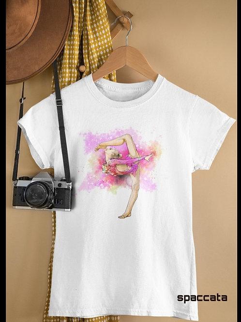 Camisa Ginasta Rosa