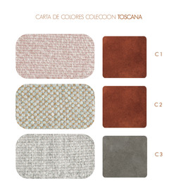 Carta de Colores Colección Toscana