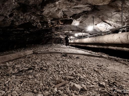 Fotografering i ett bergrum