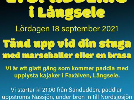 Lyspaddling 18 september 2021