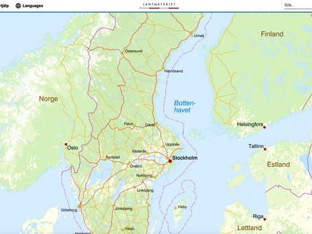 Ny karttjänst från Lantmäteriet