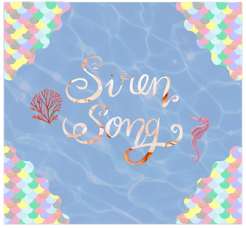 Siren Song Illustration, mermaid inspired gold jewellery universe