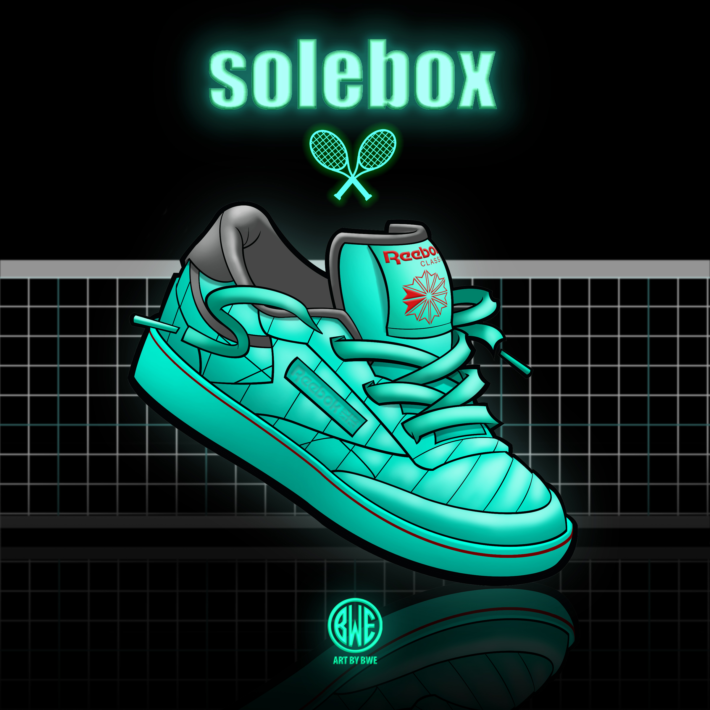 Solebox x Reebok Promo art