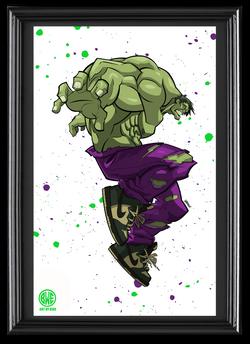 Hulk SB Dunk