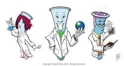 Lab Crew Character sheet