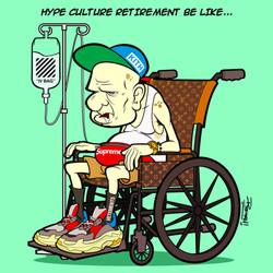 Hype Culture Retirement Parody
