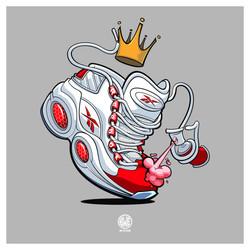 """King of the Court"" Reebok Promo Art"