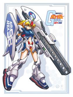 Afew MS Gundam Girl design for tote