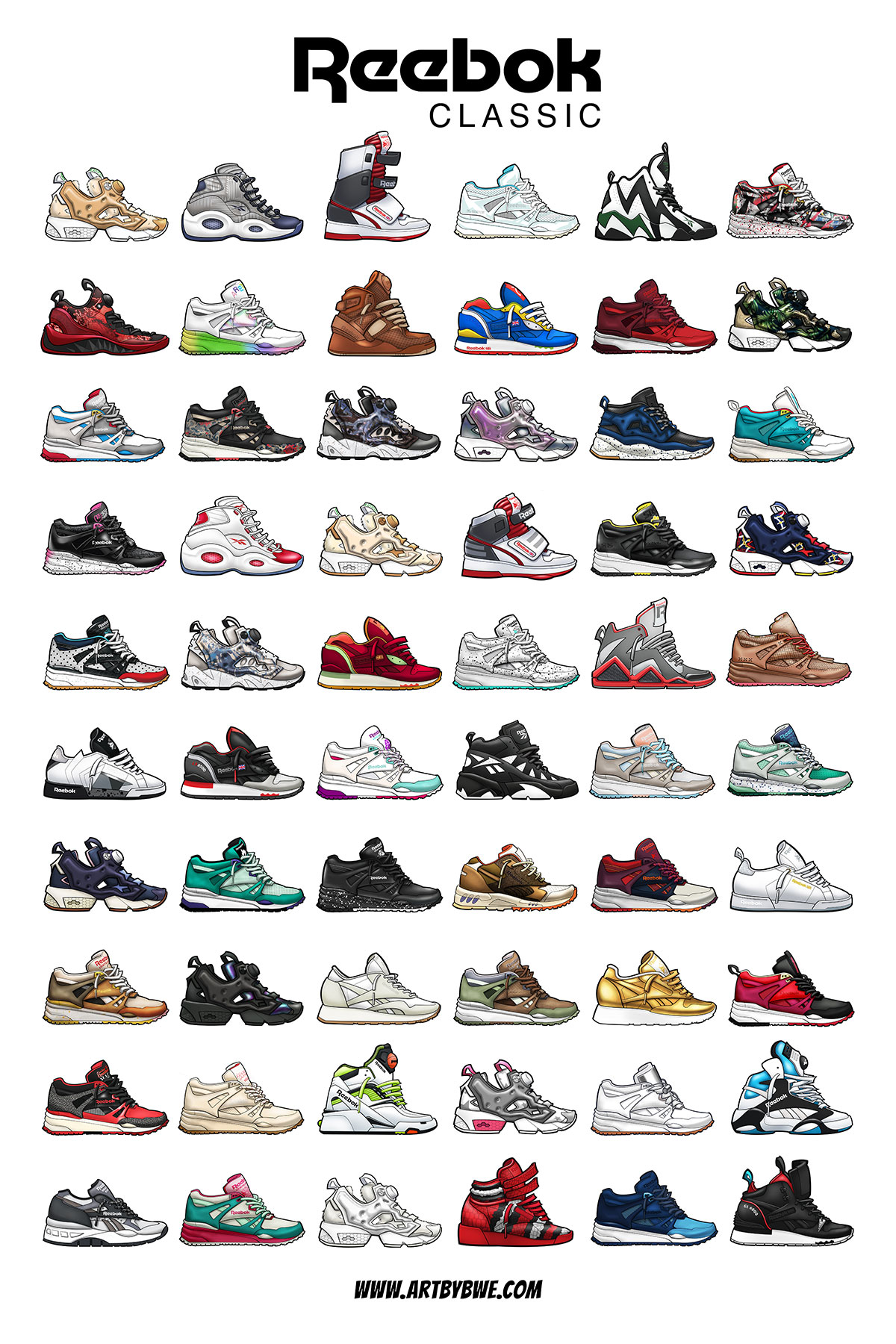 Reebok Classic Gift Poster