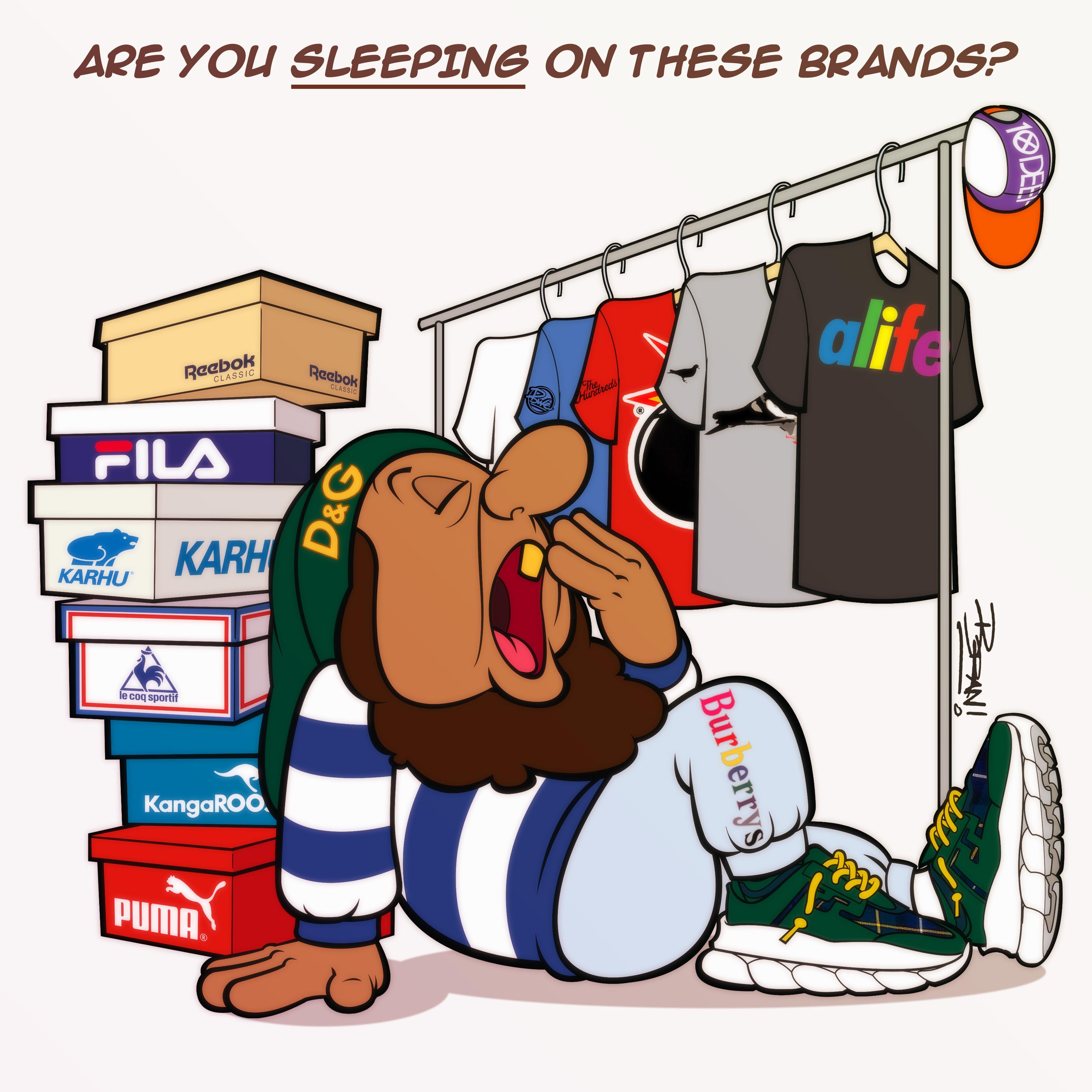 Brand Sleepin'