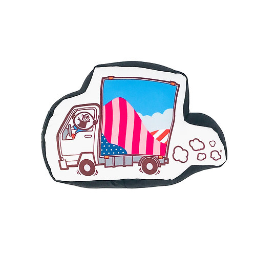 "Portray Lab x BWE ""Parra Truck"" Pillow"
