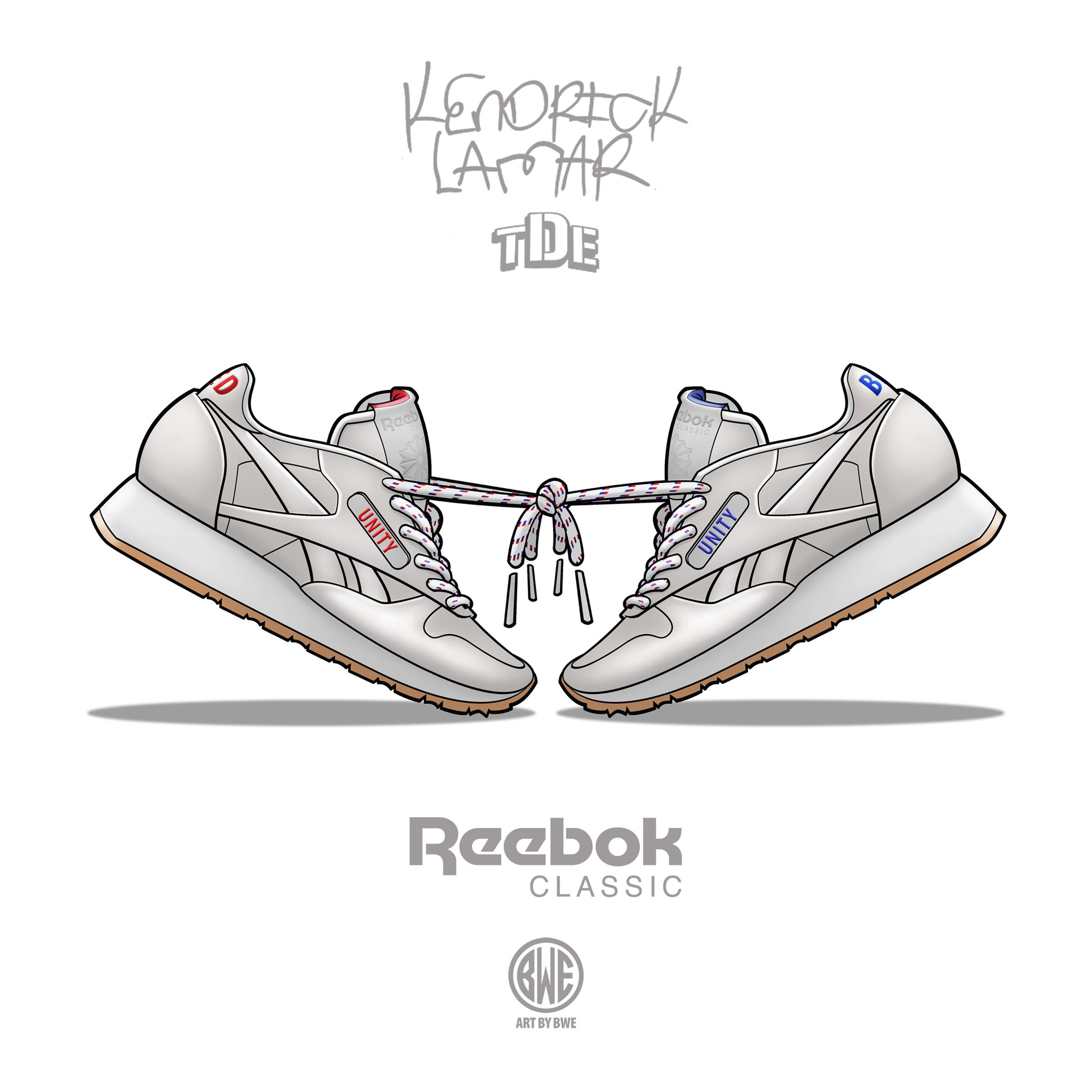 Reebok Kendrick Promo Art