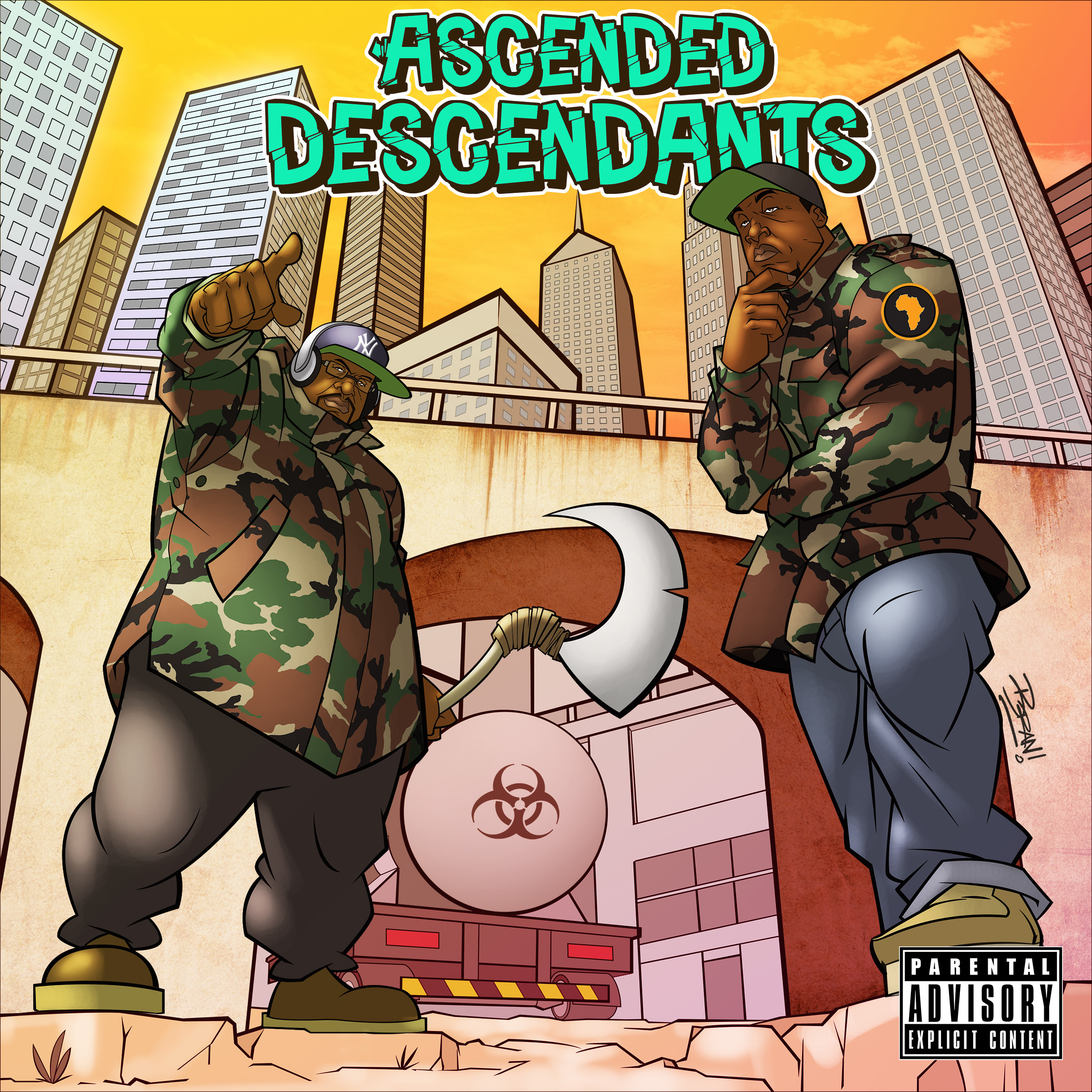 Asecending Descendants Album Cover