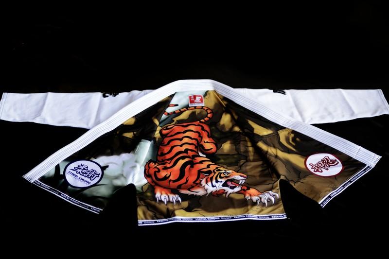 Ezekial Kimono Tiger jacket design