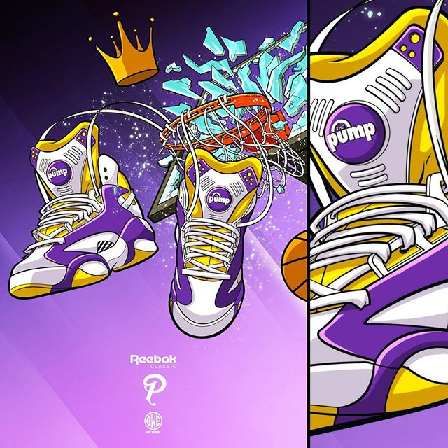 Lord of the Rim (LSU version) for Sneaker politics. Now on Display EXCLUSIVELY at _sneakerpolitics s