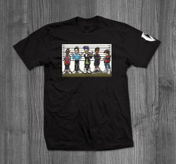 Vandal-A Usual Suspects shirt Design