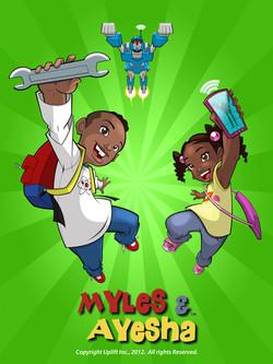 """""""Myles & Ayesha"""" Promo Poster"""