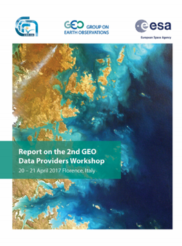 Download the Report on the 2nd GEO Data Providers Workshop