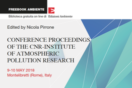 The Proceedings of the Annual CNR-IIA Conference has been published!