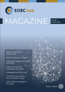 The first edition of the EOSC-hub Magazine is out