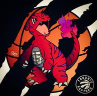 Charmeleon x Toronto Raptors