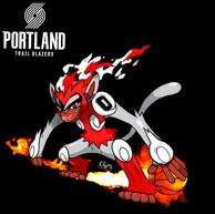Infernape x Portland Trail Blazers