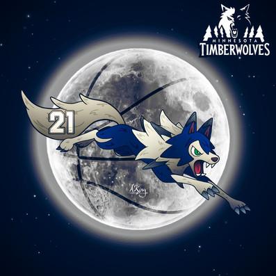 Lycanroc x Minnesota Timberwolves