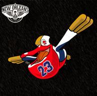 Pelipper x New Orleans Pelicans