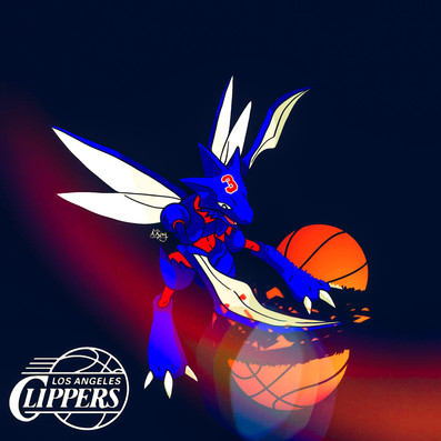 Scyther x Los Angeles Clippers