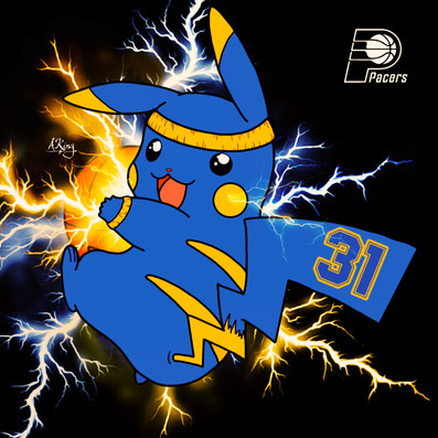 Pikachu x Indiana Pacers