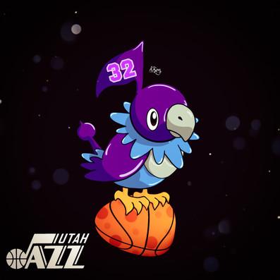 Chatot x Utah Jazz