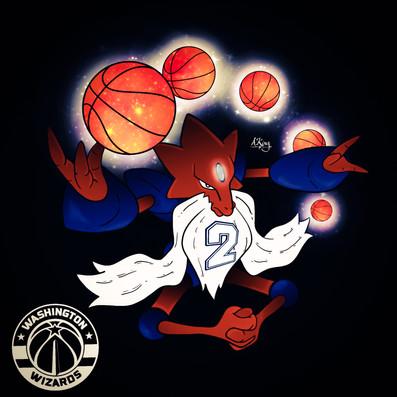 (Mega) Alakazam x Washington Wizards