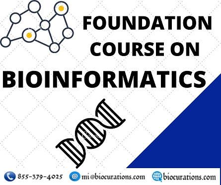 Bioinformatics Certification