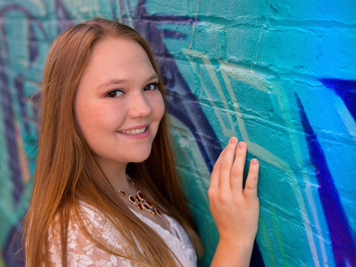 A Summer Session in the West Bottoms - Kansas City Senior Photographer