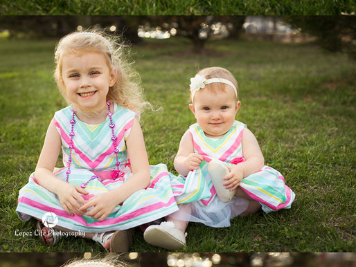 Spring in Olathe has arrived and we celebrated with Miss Evelyn's 10 month session
