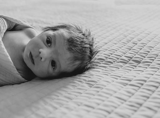 Iain - Olathe Lifestyle Newborn Photography