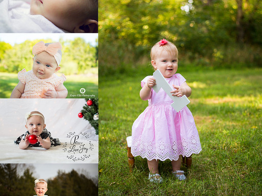 Evelyn - Baby's First Year - Olathe Photographer