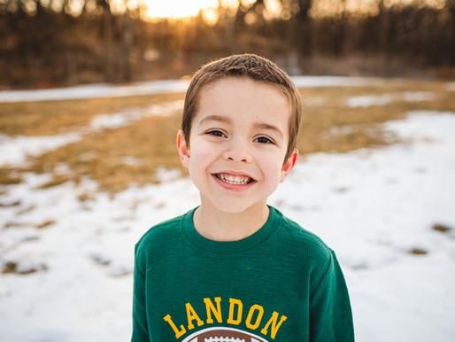 Landon turns five