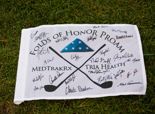 MedTrakRx & Tria Health host the 2018 ProAm benefitting Folds of Honor - Overland Park Event Pho