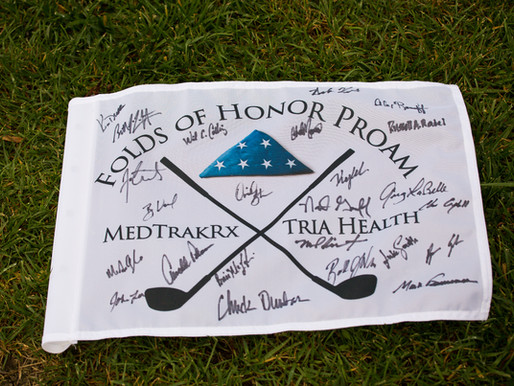 MedTrakRx & Tria Health host the 2018 ProAm benefitting Folds of Honor - Overland Park Event Pho