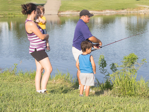 Family Picnic and Fishing - Documenting Daily Our Life