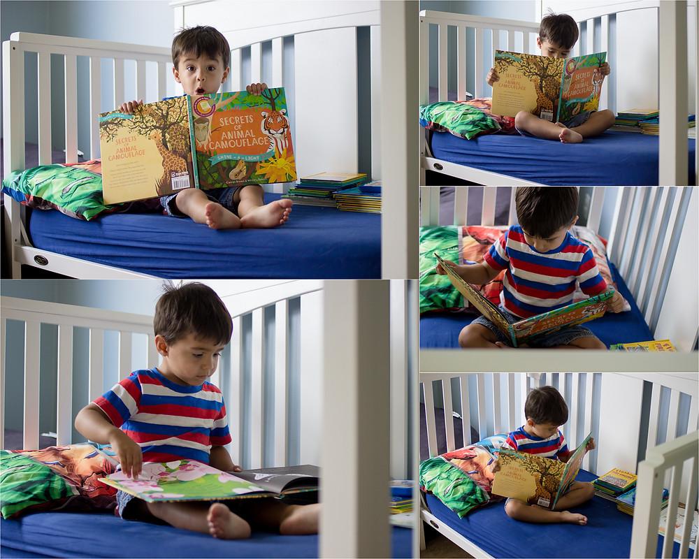 Child Photographer - Olathe - reading