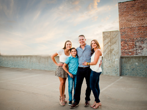 Lea Family - Crossroads District - Kansas City Photographer