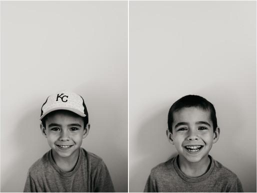 Simple Kid Portaits - Olathe Child Photographer